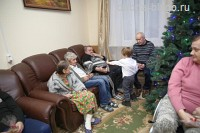 Рождественские встречи в социальных центрах