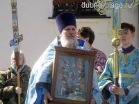 Престольный праздник храма Похвалы Пресвятой Богородицы
