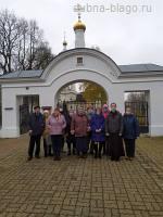 Встреча в храме с подопечными социального центра