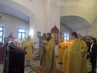 Богослужение в день памяти дубненского святого Михаила Абрамова