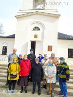 Встреча в ратминском храме с подопечными социального центра